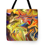 Just Abstract Viii Tote Bag