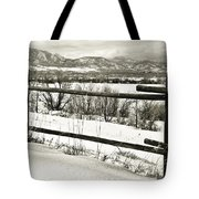 Just Beyond The Fence 1 Tote Bag