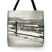 Just Beyond The Fence 2 Tote Bag