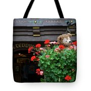 Just Hanging Around Bear Tote Bag