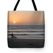 Just One More Wave Tote Bag