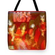 Just Some Colored Squares Tote Bag