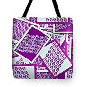K And B Playing Cards New Orleans Tote Bag