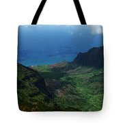 Kalalau Valley 2 Tote Bag by Ken Smith