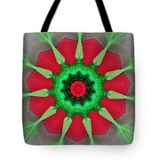 Kaleidoscope Mermaid Tote Bag