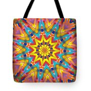 Kaleidoscope Series Number 7 Tote Bag