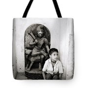 Kali In Benares Tote Bag by Shaun Higson