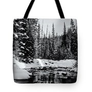 Kananaskis Creek Tote Bag