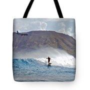 Kaneohe Bay Sufer Mcbh Tote Bag