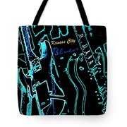 Kansas City Blues Tote Bag