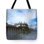 Karlsplatz Fountain Tote Bag