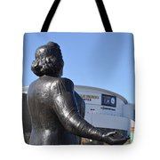 Kate Smith - God Bless America Tote Bag by Bill Cannon