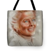Katherine Hepburn Tote Bag