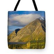 Kathleen Lake, Kluane National Park Tote Bag