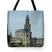 Katholische Hofkirche - Dresden Tote Bag