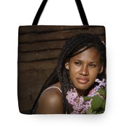 Katie The Beautiful Woman Tote Bag