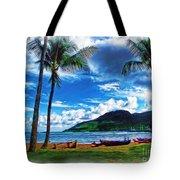Kauai Beach And Palms Tote Bag