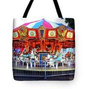 Kauai Carousel At Dusk Tote Bag