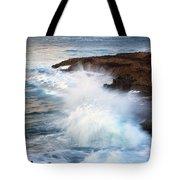 Kauai Sea Explosion Tote Bag