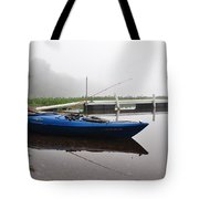 Kayaking Morning Tote Bag