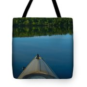 Kayaking Range Ponds 0003 Tote Bag