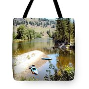 Kayaks On The Kettle Tote Bag