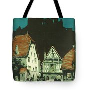 Kaysersberg Alsace Tote Bag by Georgia Fowler