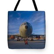 Kc-10 At Sunset Tote Bag