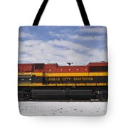 Kcs Locomotive Tote Bag