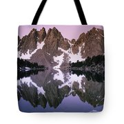 Kearsarge Lake Reflects The Nearby Tote Bag