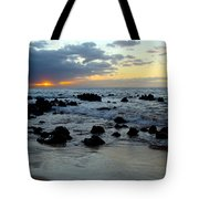 Keaweakapu Beach Sunset Tote Bag