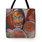 Keep Friends Close And Anemones Closer Tote Bag