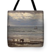 Kelp Gatherers Tote Bag by Henry Moore