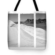Kelso Dunes Triptych Tote Bag