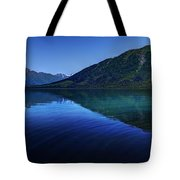 Kenai Lake Blues Tote Bag