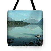 Kenai Lake Reflections Tote Bag