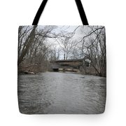 Kennedy Bridge Over French Creek Tote Bag