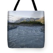 Kennicott River And The Wrangell Tote Bag