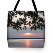 Kentucky Lake At Sunsset Tote Bag