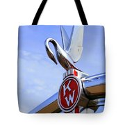 Kenworth Insignia And Swan Tote Bag