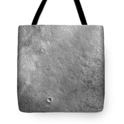 Kepler Crater On The Surface Of Mars Tote Bag
