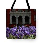 Kew Garden Irises Tote Bag