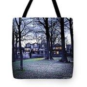Kew Park At Dusk Tote Bag by Elena Elisseeva