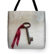 Key On Windowsill Tote Bag