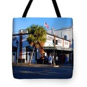 Key West Bar Sloppy Joes Tote Bag by Susanne Van Hulst