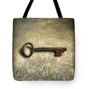 Key With Blood On It. Tote Bag