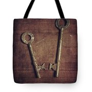 Keys Tote Bag
