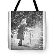 Khloe - Grayscale Tote Bag
