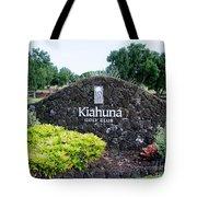 Kiahuna Golf Club Tote Bag