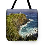 Kilauea Lighthouse Hawaii Tote Bag